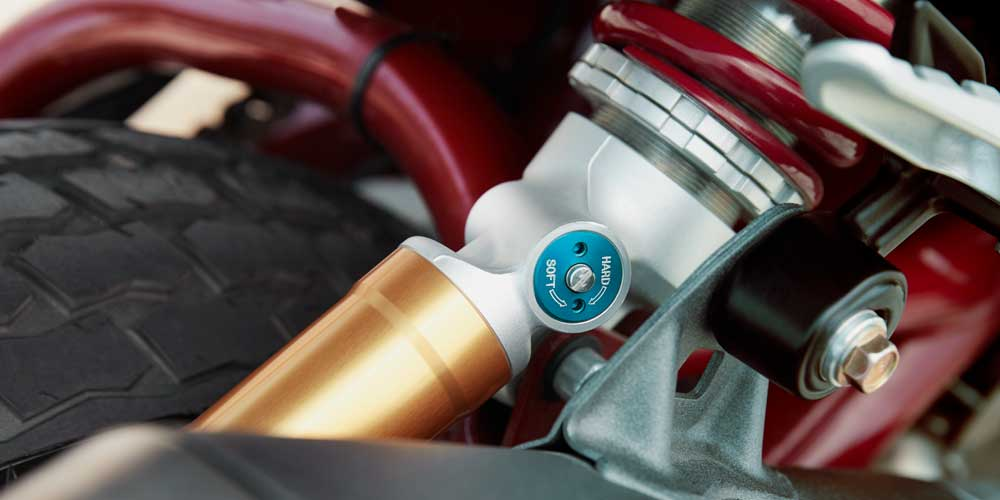Fully Adjustable Suspension